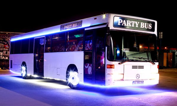 Party bus автобус лимузин пати бас дискотека на колесах пати бус