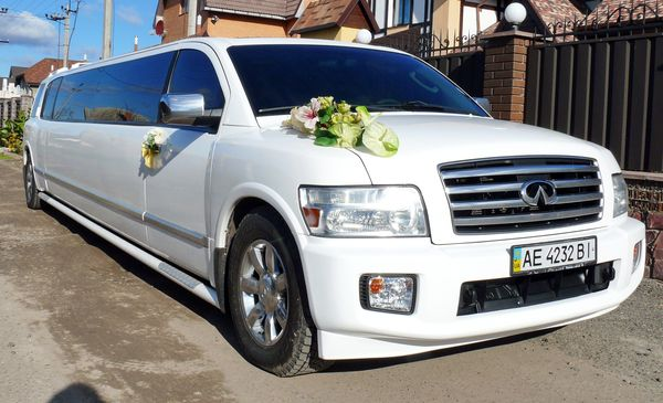 INFINITI QX56 заказать лимузин