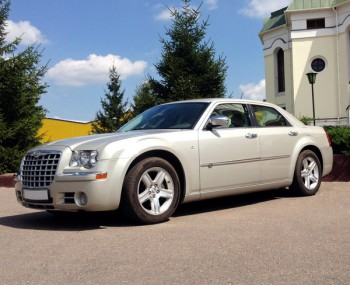 Chrysler 300C шампань прокат аренда киев