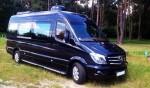 Микроавтобус Mercedes Sprinter черный VIP класса аренда Киев цена