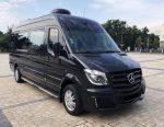 Микроавтобус Mercedes Sprinter черный VIP класса аренда код 278
