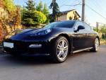 Porsche Panamera черный аренда спортивных автомобилей код 161