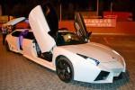 Лимузин Lamborghini Reventon белая аренда код 003