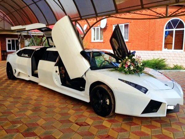 Лимузин ламбаржини арендовать на свадьбу киев