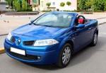 Кабриолет Renault Megane синий аренда код 227