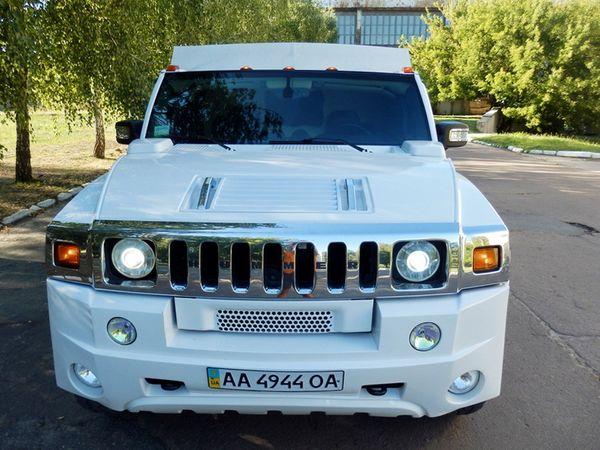 МЕГА Hummer H2 Трехосный на свадьбу киев