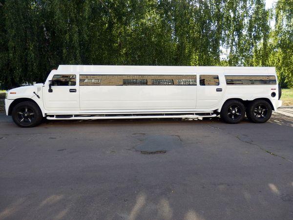 МЕГА Hummer H2 Трехосный прокат аренда хамер лимузин в киеве лимузин хамер на свадьбу на девичник на день рождение, хамер не дорого 07