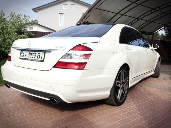 Mercedes W221S550 мерседес на свадьбу киев