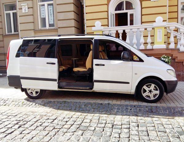 Mercedes Vito прокат аренда на свадьбу в киеве