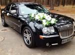 Chrysler 300C черный на свадьбу прокат авто