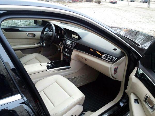 Mercedes E class черный на прокат в киеве