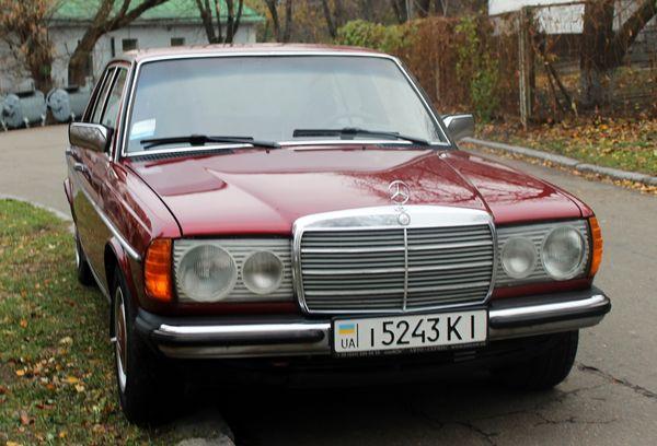 Mercedes W123 ретро авто аренда киев