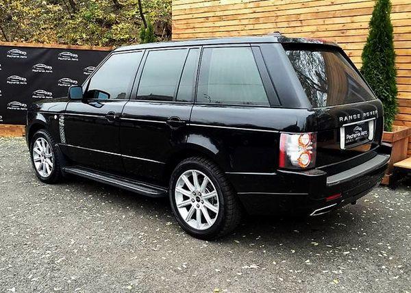 Range Rover Vogue черный прокат аренда киев, заказать рендж ровер джип аренда с водителем, прокат рендж ровера на свадьбу цена киев 03