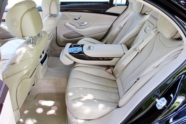 Mercedes W222S500 черный заказать на свадьбу