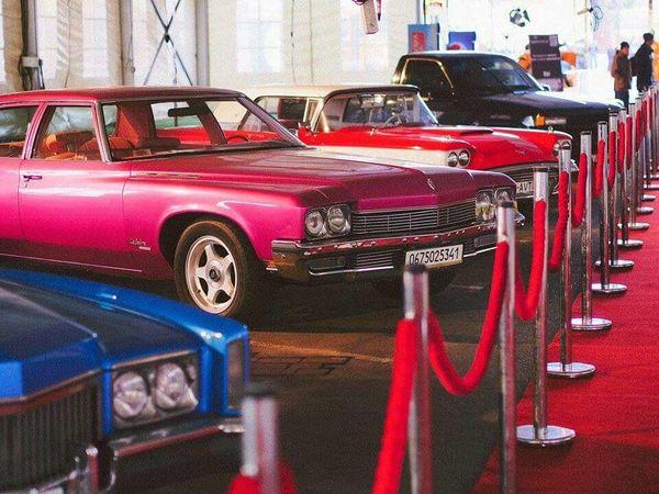 Buick Le sabre прокат аренда ретро кабриолет розовый