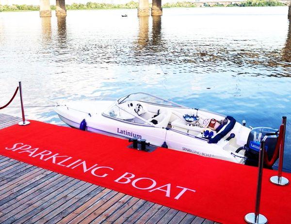 Аренда катера на Днепре прокат яхты