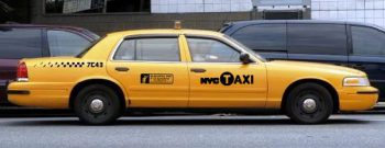 Ford Crown Victoria New York city taxi аренда киев