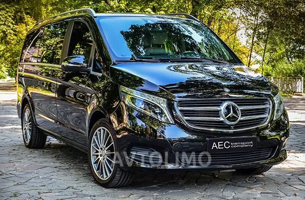 Mercedes V класс микроавтобус заказать в киеве
