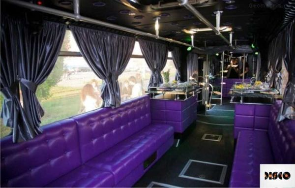 Party Silver Bus аренда караоке дискотека