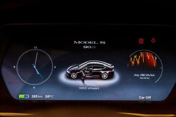 TESLA Model S90D на свадьбу киев