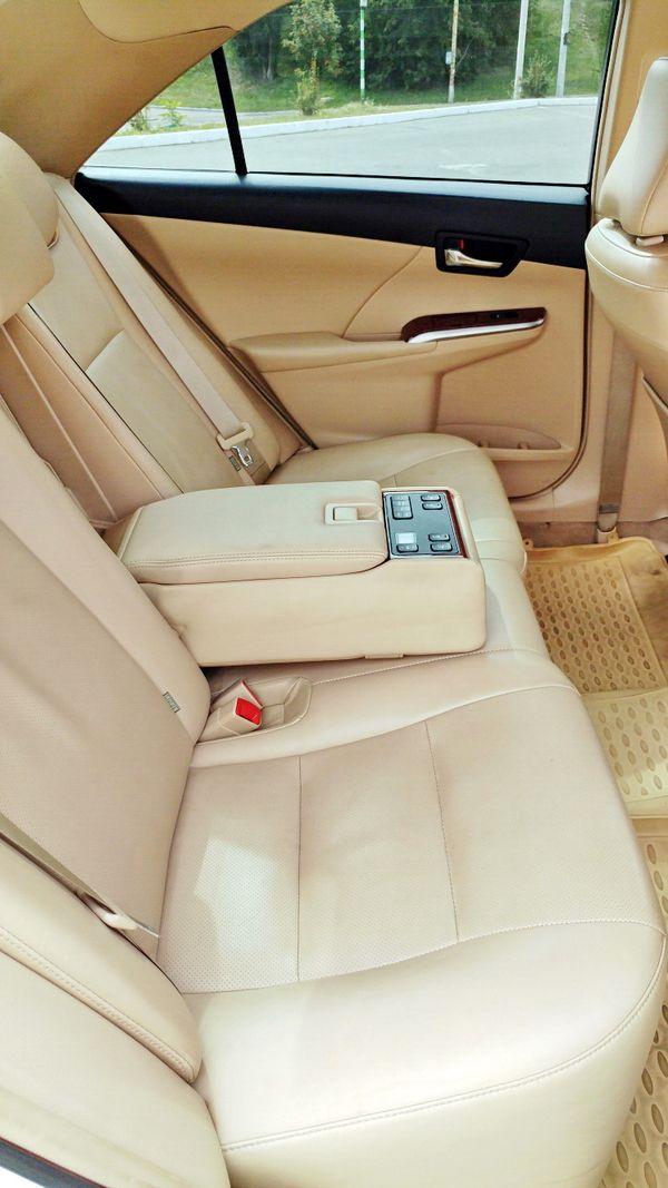Toyota Camry V50 белая прокат