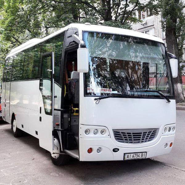 Isuzu белый аренда автобус на свадьбу