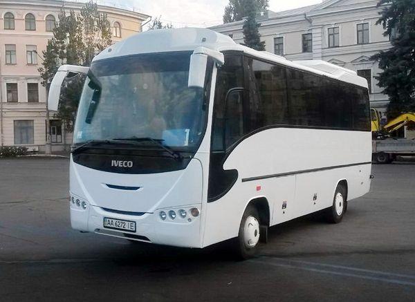 Iveco белый заказать автобус