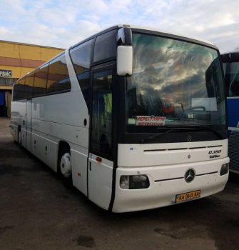 Mercedes 50 мест автобус аренда
