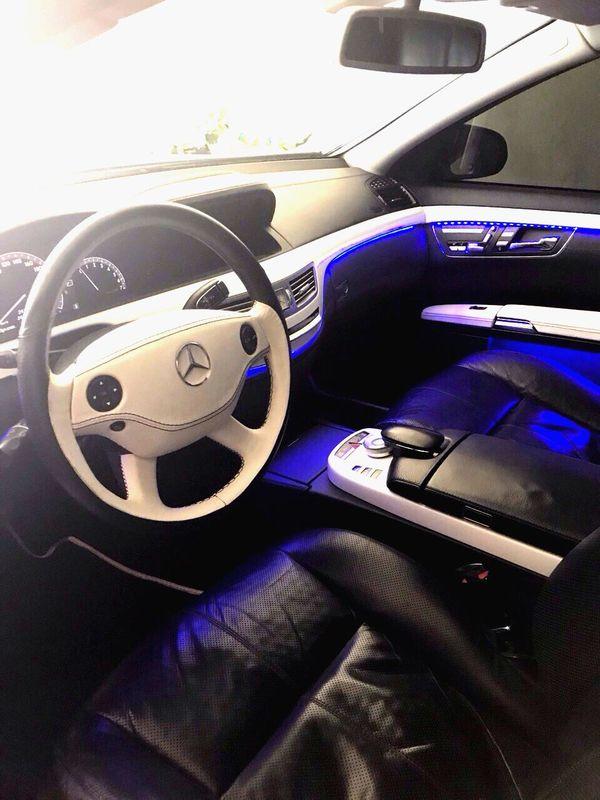 Mercedes W222 S63 белый в аренду киев