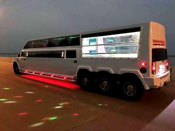 Лимузин Ultra Mega Hummer H2 аренда