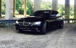 BMW 320i F30 черный прокат аренда авто код 117