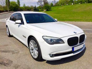 BMW 730L белая прокат