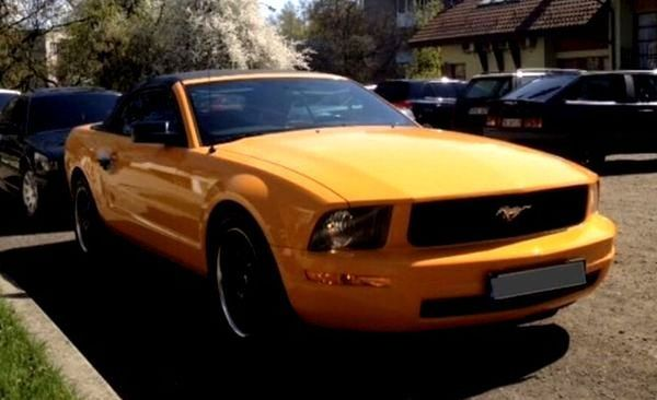 Кабриолет Ford Mustang GT на свадьбу