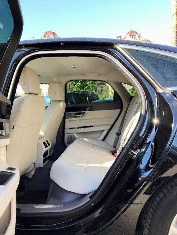 Jaguar XF черный 2017 на прокат на свадьбу киев