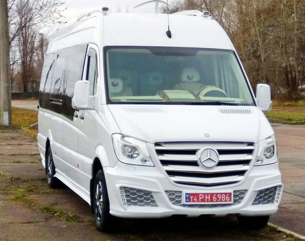 Mercedes Sprinter VIP 2018 заказать на прокат