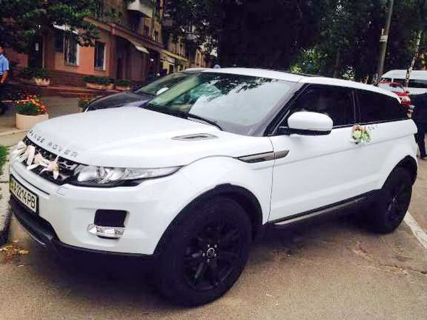 Внедорожник Range Rover Evoque прокат