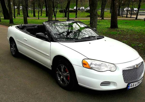 Chrysler Sebring белый прокат аренда