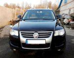 Внедорожник Volkswagen Touareg черный
