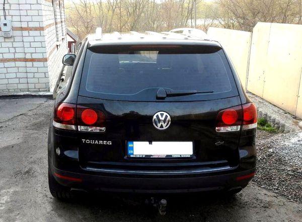 Внедорожник Volkswagen Touareg на свадьбу