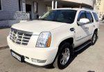 Внедорожник Cadillac Escalade белый прокат