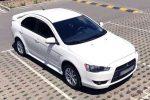 Mitsubishi Lancer белый аренда авто код 182