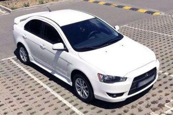 Mitsubishi Lancer белый на прокат