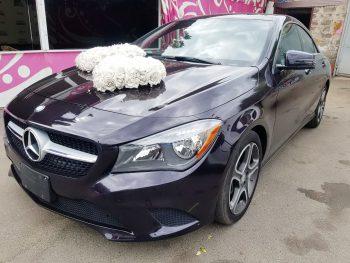Mercedes CLA фиолетовый на прокат киев