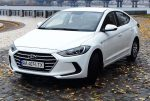 Hyundai Elantra 2018 белая аренда авто код 167