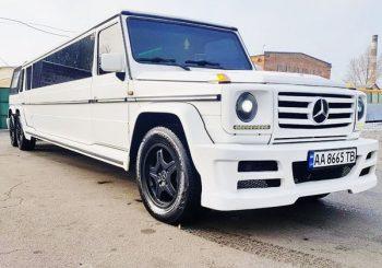 Mercedes G-class Gelandewagen лимузин киев