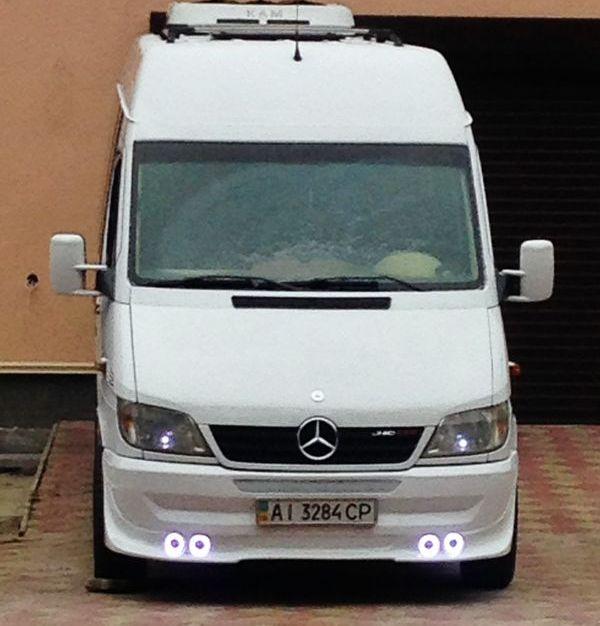 Mercedes Sprinter на прокат в киеве