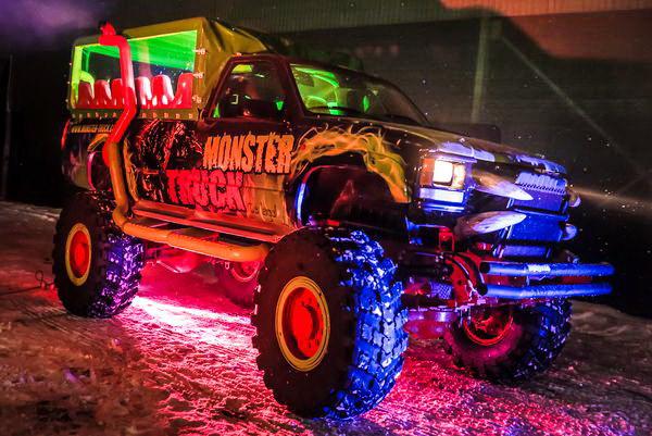 Party Bus Monster truck заказать пати бус киев