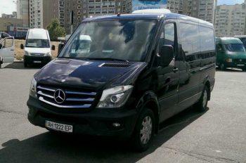 Mercedes Sprinter черный VIP 9 мест аренда