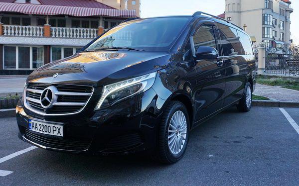 Mercedes V класс на свадьбу заказ киев