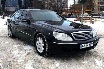 Mercedes-Benz w220 S600 2006 GUARD B6/B7 на прокат